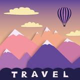 Travel design Royalty Free Stock Image
