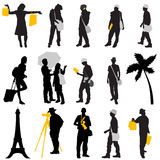 Travel design element Stock Photos