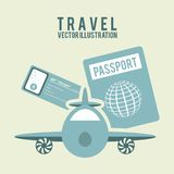 Travel design Stock Photo