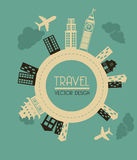 Travel design Royalty Free Stock Images