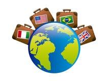 Travel design Stock Photo