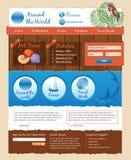 Travel design template Stock Image