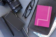 Travel desk Royalty Free Stock Photography