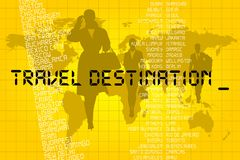 Travel destination Stock Image
