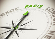Travel Destination Idea - Paris Royalty Free Stock Photography