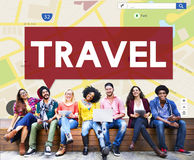 Travel Destination Journey Vacation Trip Concept Stock Images