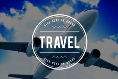 Travel Destination Journey Vacation Trip Concept Royalty Free Stock Photography