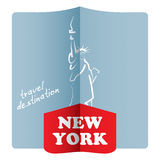 Travel destination, New York Royalty Free Stock Image