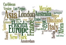 Travel destinations Stock Photo