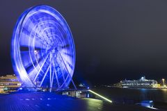 Travel Destinations and Concepts. Helsinki Skywheel Stock Photography