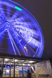Travel Destinations. The Helsinki Skywheel in Finland Stock Image