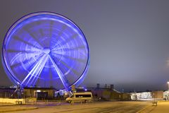 Travel Destinations. The Helsinki Skywheel in Finland Royalty Free Stock Photography