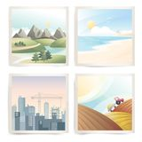 Travel destinations Stock Image