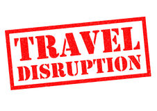 TRAVEL DISRUPTION Royalty Free Stock Images