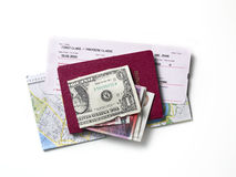 Travel documents Royalty Free Stock Photo