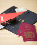 Travel documents Royalty Free Stock Image