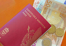 Travel documents Royalty Free Stock Images
