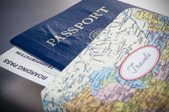 Travel documents Royalty Free Stock Image