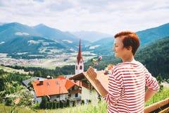 Travel at Dolomites, Italy, Europe. Royalty Free Stock Photos