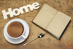 Travel Or Dream Concept With Arrangement On The Old Map. Royalty Free Stock Photography