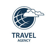 Travel earth logo Stock Photos