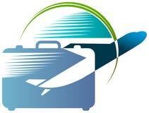 Travel emblem Stock Photography