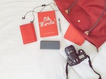 Travel essentials Royalty Free Stock Photos
