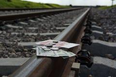 Travel expense reimbursement Royalty Free Stock Photos