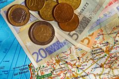 Travel expenses Stock Photography