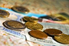 Travel expenses Stock Photo