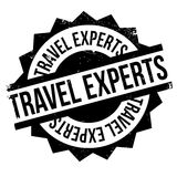 Travel Experts rubber stamp Stock Photography
