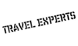 Travel Experts rubber stamp Stock Images