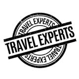 Travel Experts rubber stamp Stock Photo