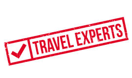 Travel Experts rubber stamp Royalty Free Stock Photography
