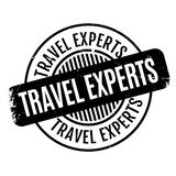 Travel Experts rubber stamp Royalty Free Stock Images