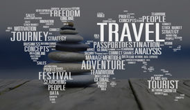Travel Explore Global Destination Trip Adventure Concept.  stock photos