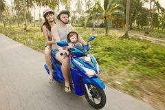 Travel family c Royalty Free Stock Images