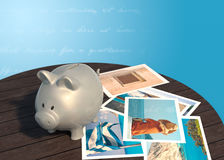 Travel finance Stock Photo
