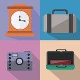 Travel Flat design Stock Images