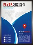 Travel Flyer - Brochure Template Design Vector Royalty Free Stock Images