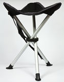 Travel folding stool Royalty Free Stock Image