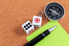 Travel Gambling plans and strategies. Royalty Free Stock Images