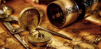 Travel geography navigation concept background. Stock Photo