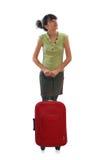 Travel girl Stock Image