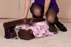Travel girl Royalty Free Stock Photos