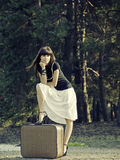 Travel girl Royalty Free Stock Photography
