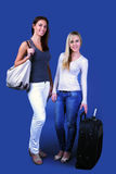 Travel girls Royalty Free Stock Images