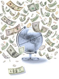 Travel Global American Money Stock Photos