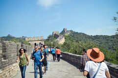 Travel  great wall of china Stock Image