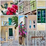 Travel in Greece Royalty Free Stock Photo